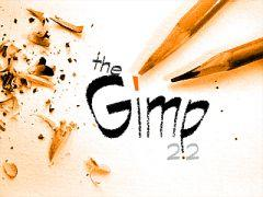 The gimp splash screen