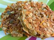 Galettes céréales, carottes cumin