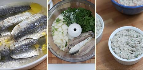 Préparation Rillettes de sardines