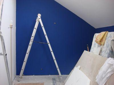 Bleu blanc grec paperblog for Peinture pour bureau professionnel