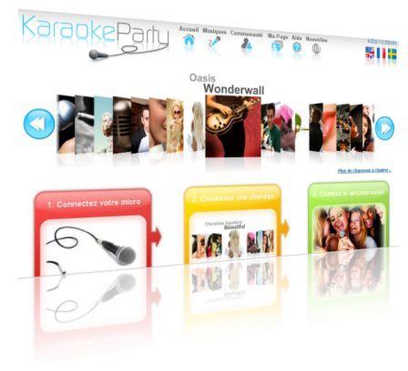 un karaoke en ligne pour vous faire chanter paperblog. Black Bedroom Furniture Sets. Home Design Ideas