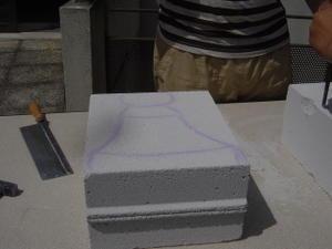 fabrication de jeux d 39 chec g ant en b ton cellulaire voir. Black Bedroom Furniture Sets. Home Design Ideas