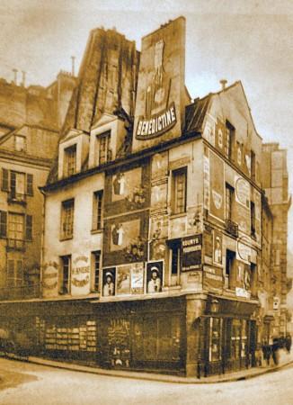 Paris Disparu La Maison De Mademoiselle Moliere