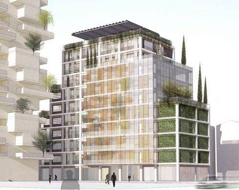 Isola immeuble cologique milan lire for Immeuble ecologique