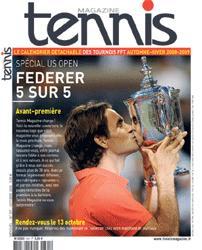 Nouveau look pour Tennis Magazine