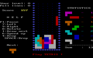 Tetris version 3.12