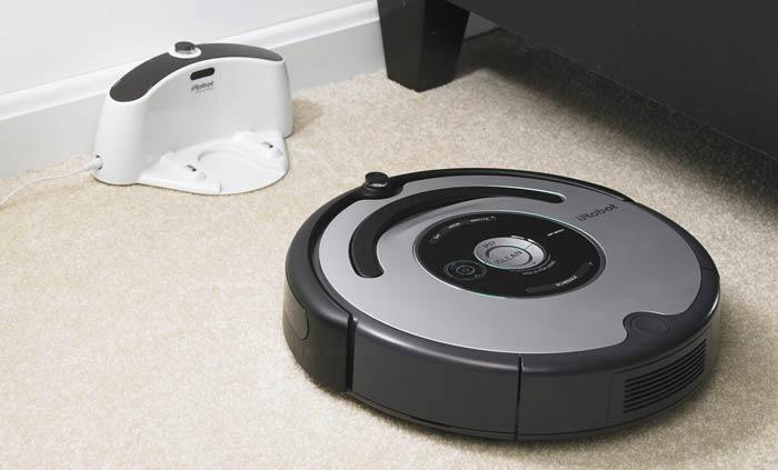 aspirateur automatique sans sac roomba 560 paperblog. Black Bedroom Furniture Sets. Home Design Ideas