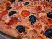 clafoutis tomates cerises lardons olives noirs