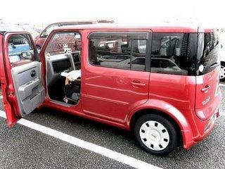 notre voiture une nissan cube 3 paperblog. Black Bedroom Furniture Sets. Home Design Ideas