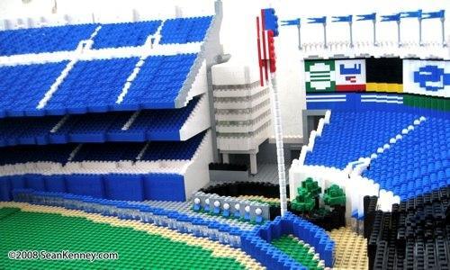 Le stade Yankee immortalisé en LEGO