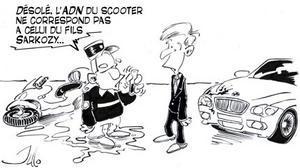SCOOTER vs BMW : Sarkozy relaxé, automobiliste condamné
