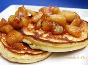 Hotcakes pommes caramélisées