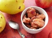 Recette d'automne Chutney coings