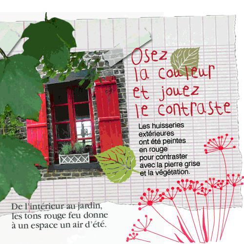 osez la couleur et jouez le contraste paperblog. Black Bedroom Furniture Sets. Home Design Ideas