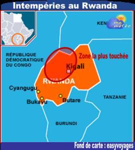 [Rwanda] Pluies diluviennes et dégâts dans l'ouest et le nord