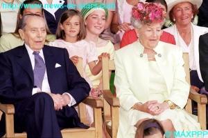 Le comte et la comtesse de Paris en 2004