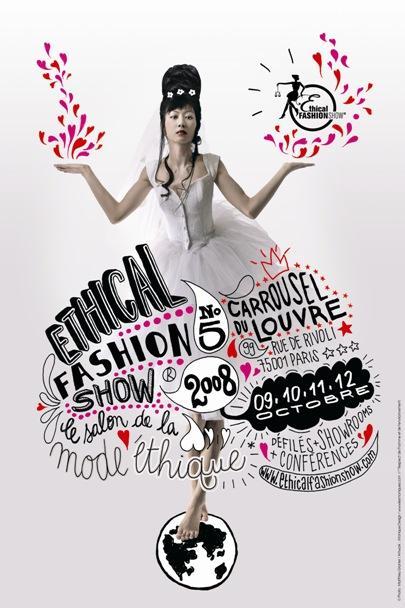 Ethical Fashion Show 2008 au Carrousel à Paris