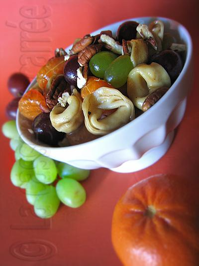 Salade tortellini fruits