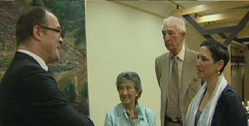 EXCLUSIF Juin 2008 : David Littman est reçu par Shimon Pérès