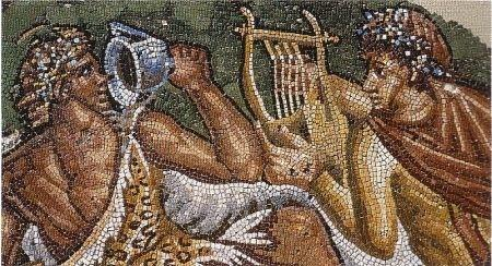 vin grec romain