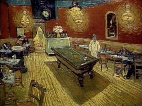 Van Gogh, Café de nuit