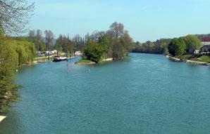 Le projet de'Vallée Rive gauche' veut ouvrir les villes des Hauts-de-Seine  sur la Seine. (Maxppp)