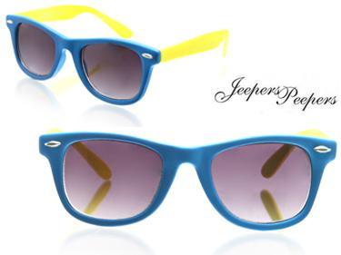 Lunette vintage bleu jaune
