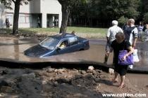Accident de voiture suite