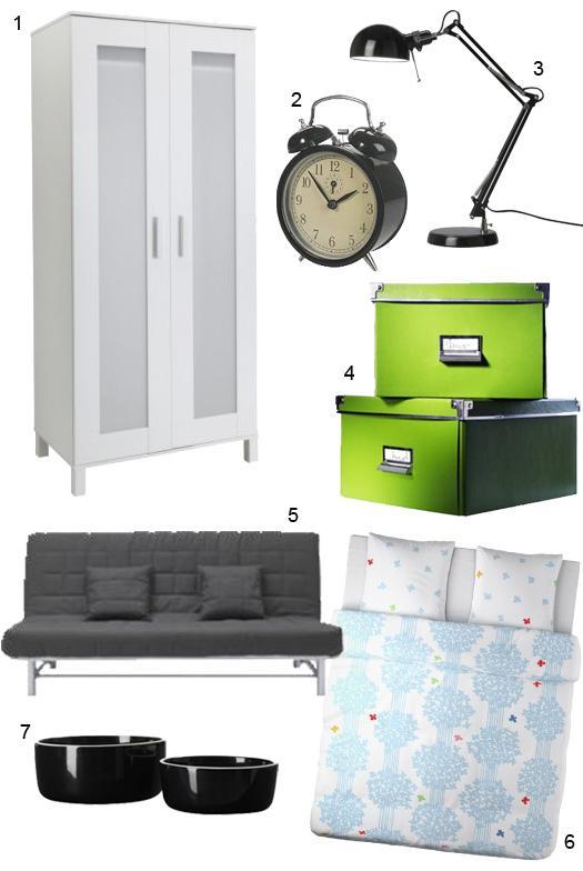 Achats Ikeaïens pour la chambre