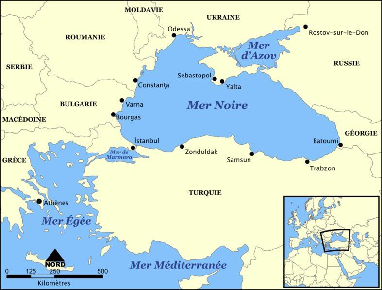 La mer noire, lac de paix ?