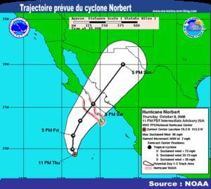 [Cyclone Norbert] La Basse-Caroline du Sud en alerte (Mexique, La Paz)