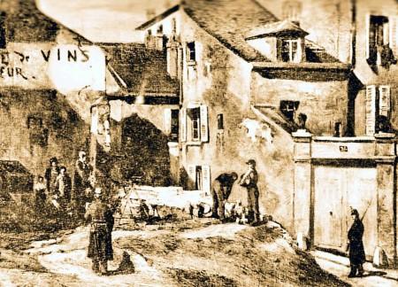 RUE DES ROSIERS RUE DE LA FONTENELLE Commune 09 sepia.jpg