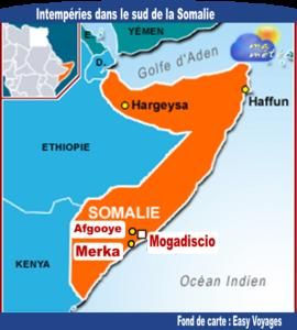 [Somalie] Intempéries dans le sud et des miliers de déplacés évacués