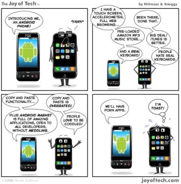 Gphone vs Iphone