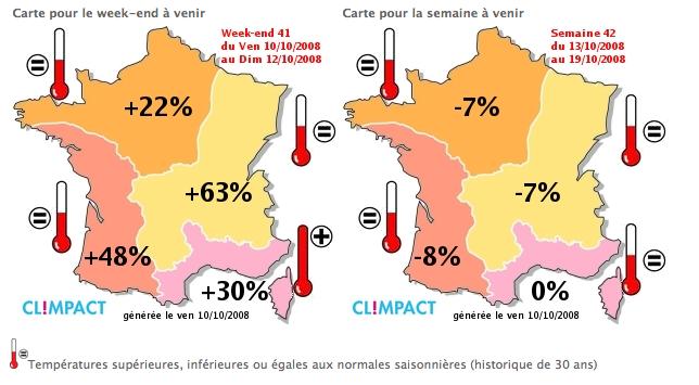 Quantifier l'impact du climat sur votre activité