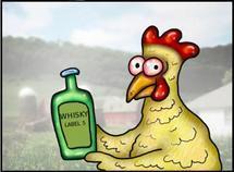 Recette du poulet au whisky