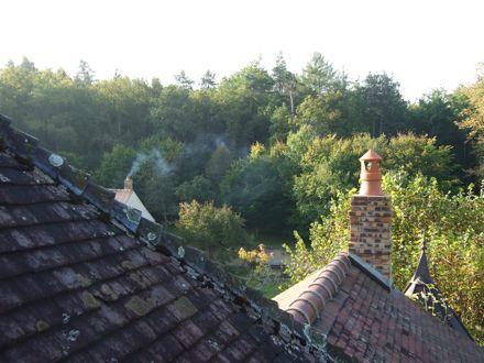 Sèche Bouteille vue toit