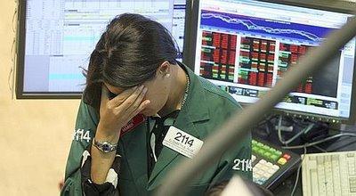 Cette trader de la Bourse de New York est devenue, malgré elle, l'icône de la crise. Crédits photo : AP