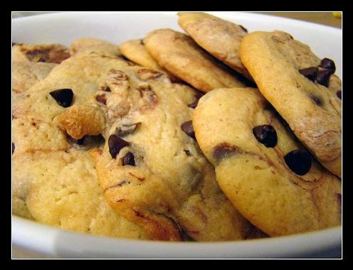 Cookies en noir & blanc