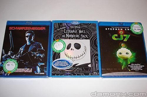 Blu Ray Terminator 2, Mister Jack et CJ7