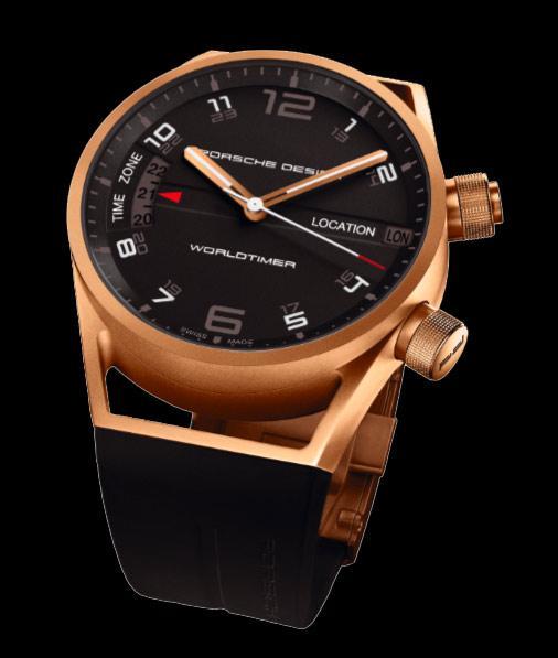 Porsche Design Worldtimer or rose - Passion Luxe