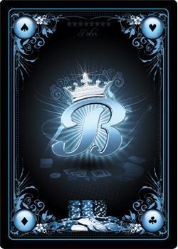 Des cartes personnalisées de Poker