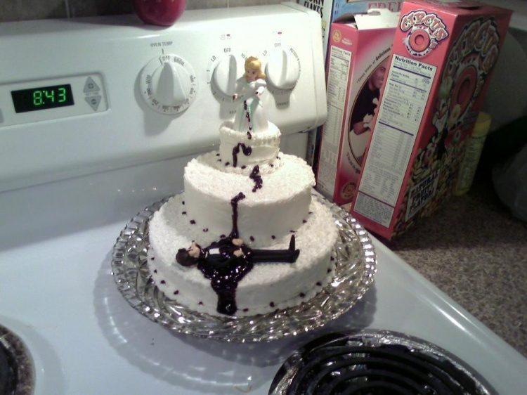 Gâteaux de divorce