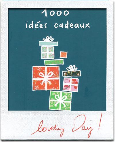 1000 idées cadeaux !