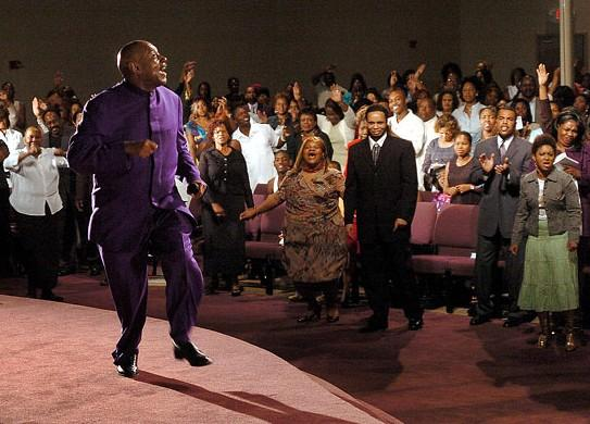 Bishop Paul S. Morton at the Greater St. Stephen Full Gospel Church
