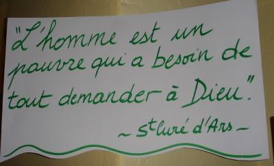 Jean-Marie Vianney : saint Curé d'Ars Saint-cure-dars-L-1