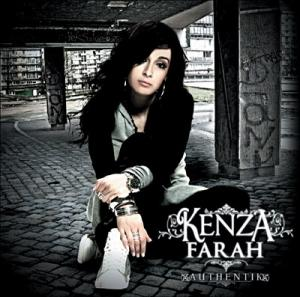 Kenza Farah, la pochette de son premier album