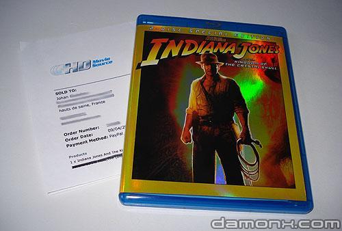 Blu Ray Indiana Jones et le Royaume du Crâne de Cristal
