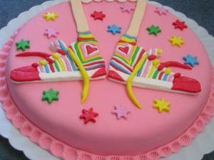 Le gâteau Floricienta !!!!!