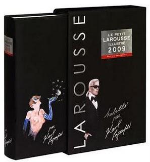 Le Petit Larousse illustré par Karl Lagerfeld